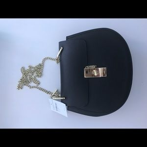 Chloe Drew shoulder bag black. New with tags